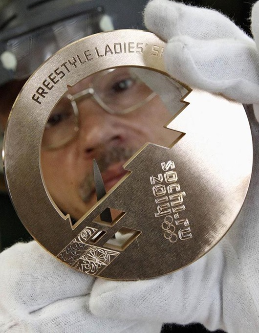RUSSIA-OLYMPICS/MEDAL