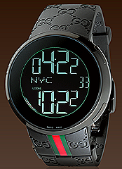 Gucci I-Gucci watch black