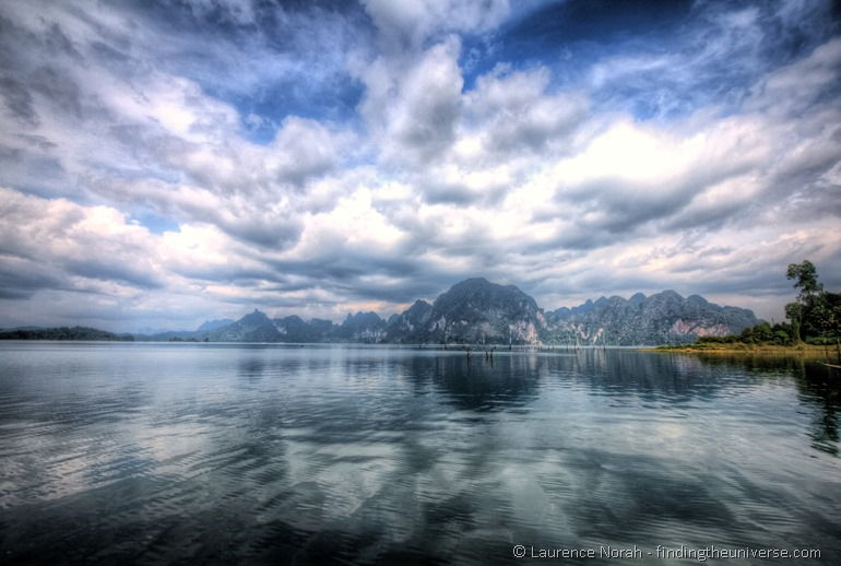 Khao sok lake reflection Thailand