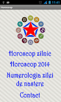 Screenshot of Horoscop