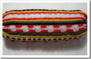 Multi crochet stitch cilindar cushion cover March13