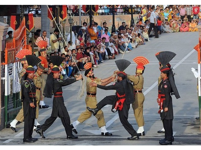 6753225-Wagah_Border_Flag_Lowering_Ceremony_Lahore_Lahore