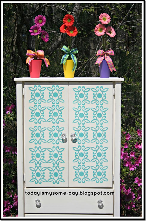 Half armoire stenciled and chalk painted.jpg