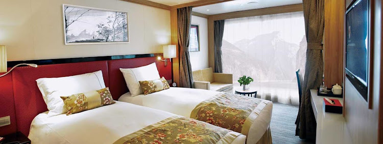 Relax in style and comfort throughout your cruise of China aboard Uniworld's Century Legend.