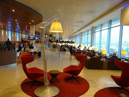 Business lounge Amsterdam