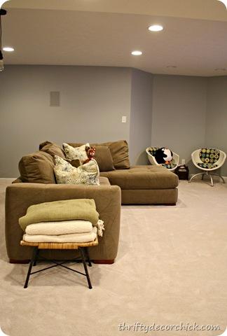 Charmant Basement Family Room