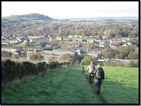 Descending to Glossop
