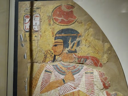 Muzeu Berlin: Fresce Egiptene