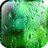 Green Rain Droplets LWP