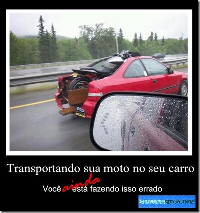 Transporte de moto FAIL [2] By Kiko Molinari Originals