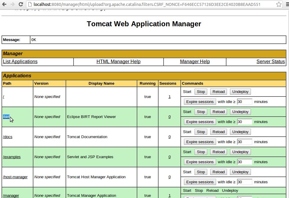 Installing Birt Viewer Server In Addition To Birt Study Designer 20