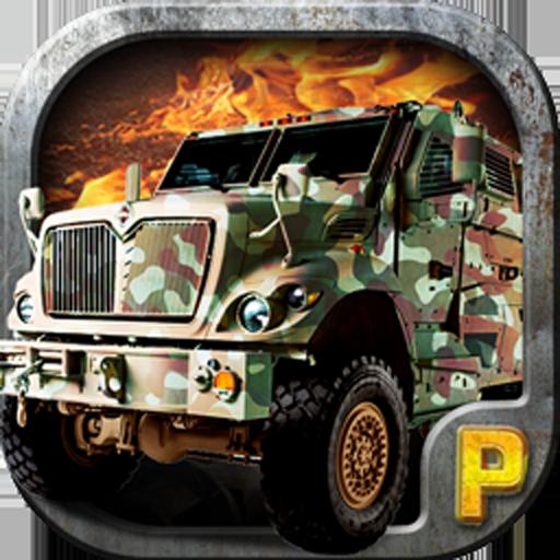 陆军停车3D - 停车游戏 賽車遊戲 App LOGO-硬是要APP