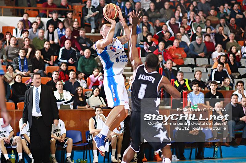 Branko Cuic / BC Mures - U Mobitelco, 30 noiembire 2012