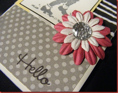 Dotty for You_Sheri Reiff_Hello card close up