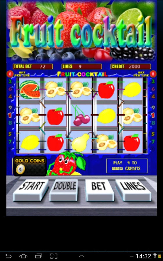 Fruit Cocktail Slots- screenshot