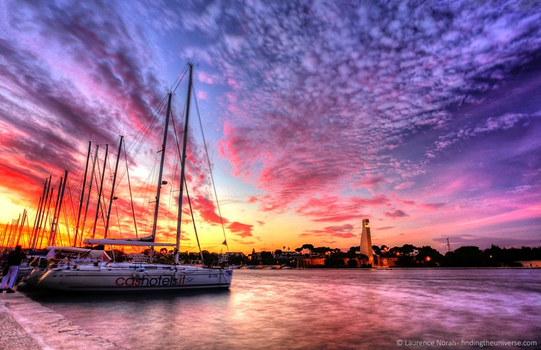 Sunset Brindisi marina scaled