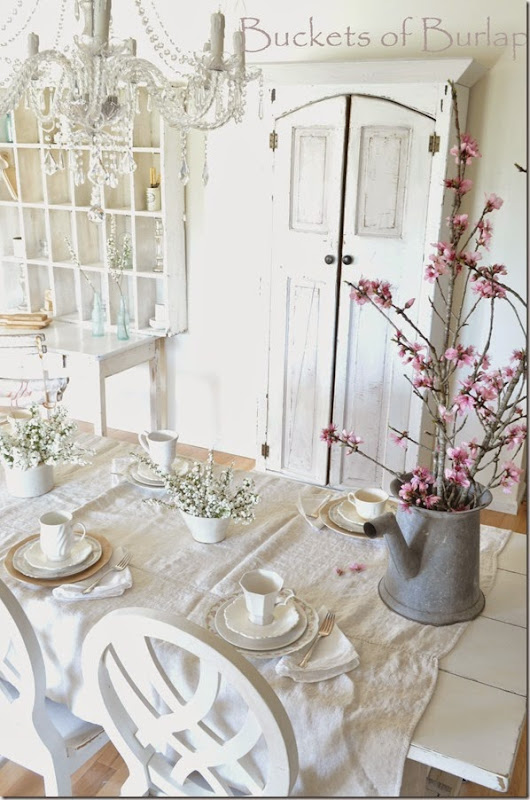 Spring table 15