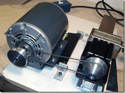 Nick S Taig Lathe And Milling Machine Blog 10 Minute Taig Motor Mount