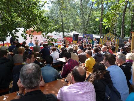 Imagini Ungaria: conferinta de presa Sziget