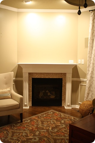 Tremendous A Fireplace Redo From Thrifty Decor Chick Interior Design Ideas Oxytryabchikinfo