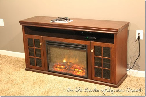 fireplace entertainment center