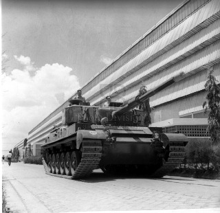 Main Battle Tank [MBT] Vijayanta [Vickers derivative] at Avadi factory