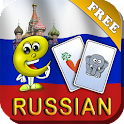 Russian Baby Flashcards 4 Kids icon