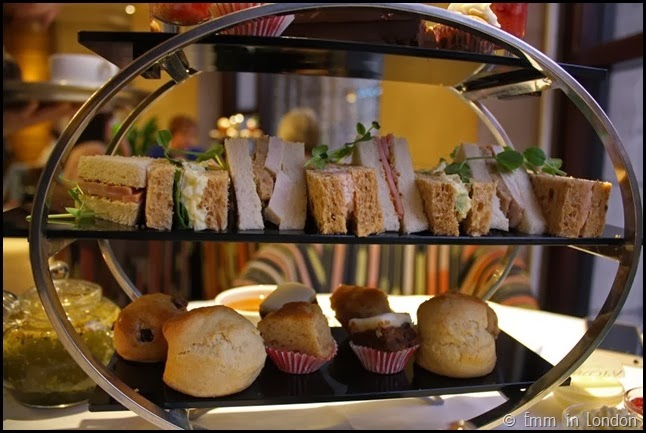 Finger sandwiches - Europa Belfast afternoon tea