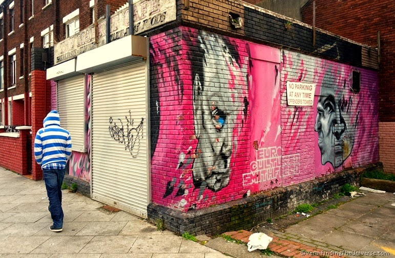 Pretty in Pink - Street Art Dublin