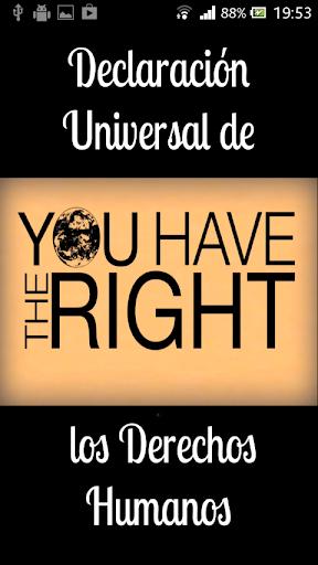 DUDH Derechos Humanos