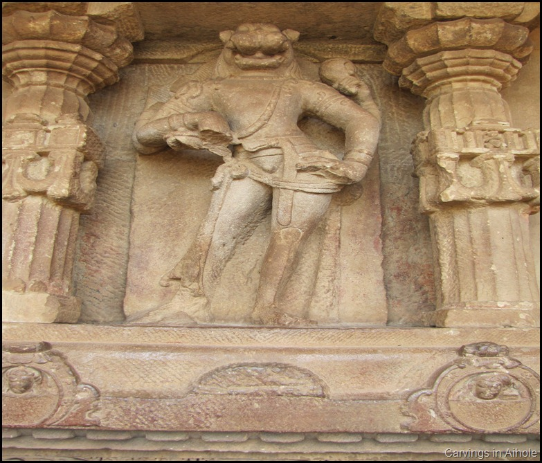 Carvings in Aihole