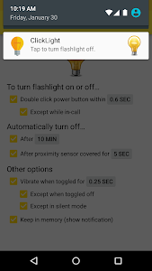 ClickLight Flashlight v1.5.7