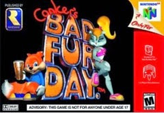 Conker's bad fur day capa