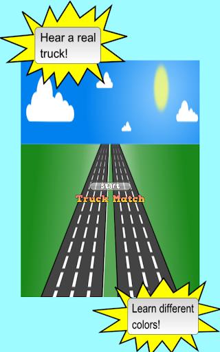 Truck Kid Games Match Race