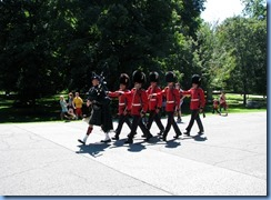 6520 Ottawa 1 Sussex Dr - Rideau Hall - Ceremonial Guard performing the Relief of the Sentries