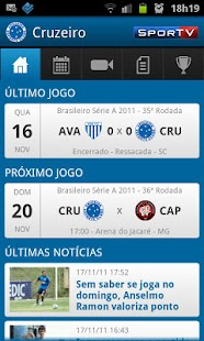Cruzeiro SporTV - screenshot thumbnail