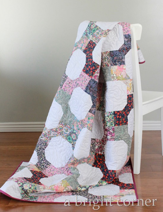 Liberty Lawn quilt tutorial