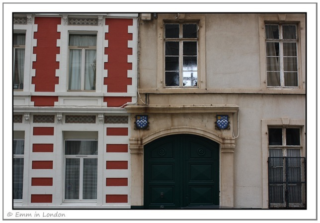 Windows and Doorways of Boulogne France 10