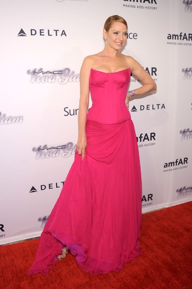Uma Thurman 4th Annual amfAR Inspiration Gala New York