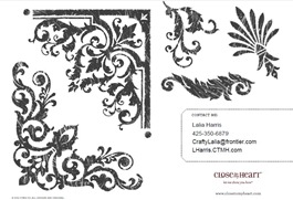 SOTM images August CTMH Baroque Borders