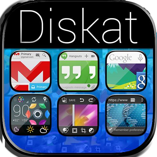 Diskat Premium - Icon Pack LOGO-APP點子
