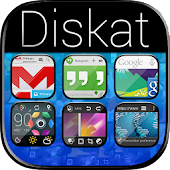 Diskat Premium - Icon Pack