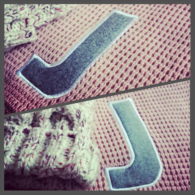 alder hey alphabet scarf