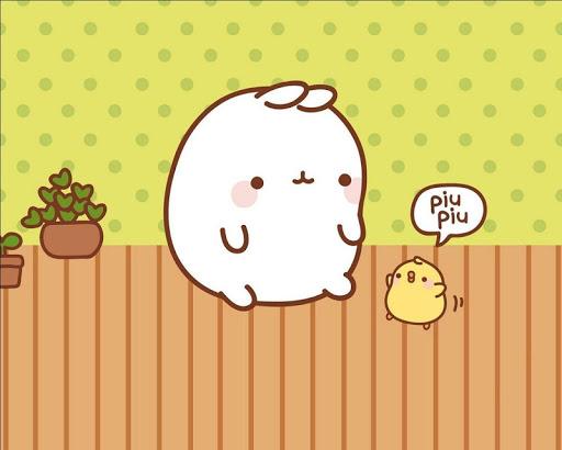 【免費娛樂App】可愛的卡通兔子壁紙-APP點子