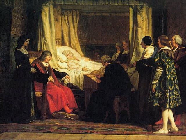 Eduardo Rosales - Testamento de Isabel la Católica (1864).jpg