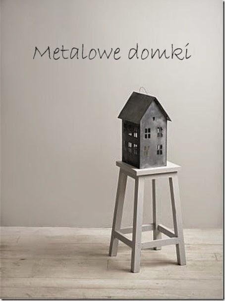 metalowe domki
