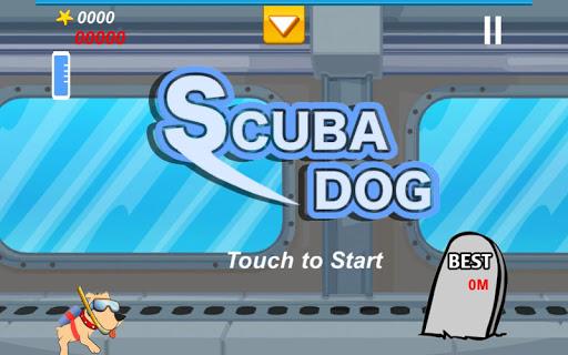 スキューバ犬