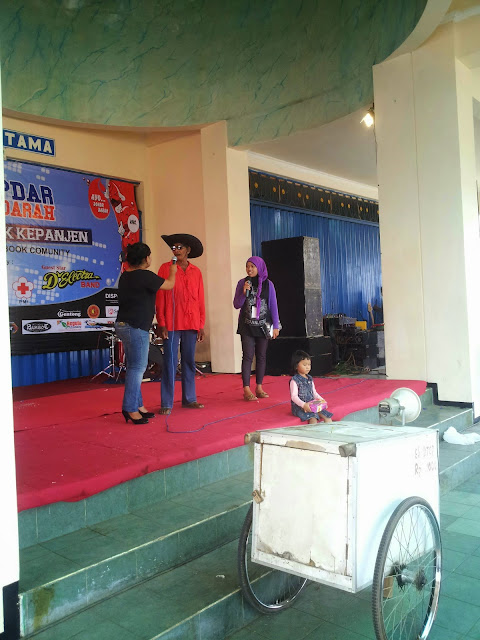 Kopdar Berdarah Arek Kepanjen dengan MC Anisa AE dan Jeng Luly