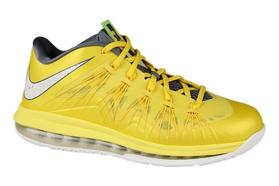 official photos ae70e ea55e Nike Air Max LeBron X 8220Sonic Yellow8221 8211 Official Release Date