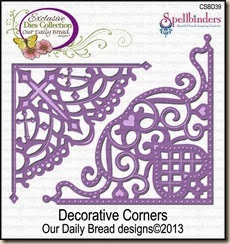 decorative corners dies